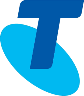 Telstra icon blue