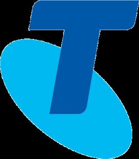 Telstra icon blue