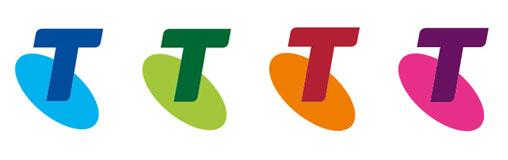 Telstra logos